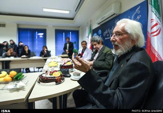 آرزوی جمشید مشایخی در تولد 80 سالگی اش + تصاویر