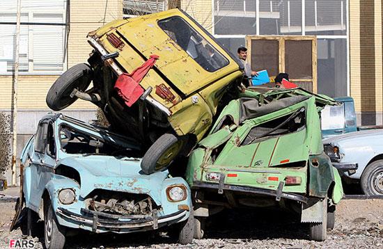 عکس هایی از اتومبیل به یاد ماندنی ژیان