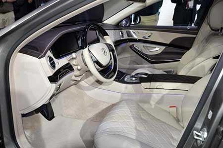 خودرو مرسدس بنز جدید S600 + تصاویر