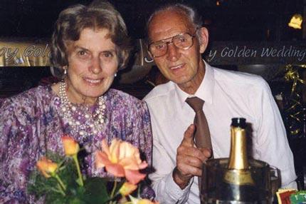 زوجی خوشبخت و وفادار به اینا میگن + عکس