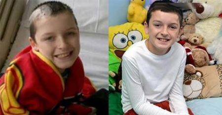 40 عمل جراحی روی پسر 10 ساله + عکس