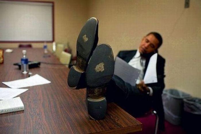 عکسهای خنده دار از سیاستمداران جهان