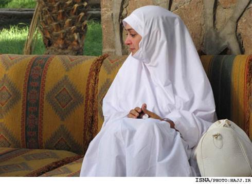 عکسهای الهام حمیدی و بازیگران زن در حج