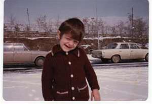 عکس های جالب از کودکی بهرام رادان