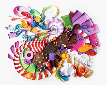 تصاویر زیبای هنر نقاشی با Yulia Brodskaya