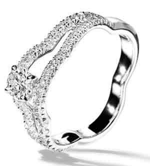 حلقه های نامزدی برند شانل