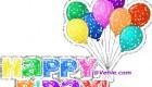 عکس های متحرک تبریک تولد