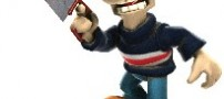عکس متحرک جو گیر شدن روی تردمیل