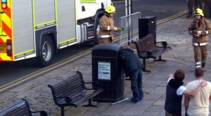 عکس های خنده دار از بد شانس ترین آدم ها