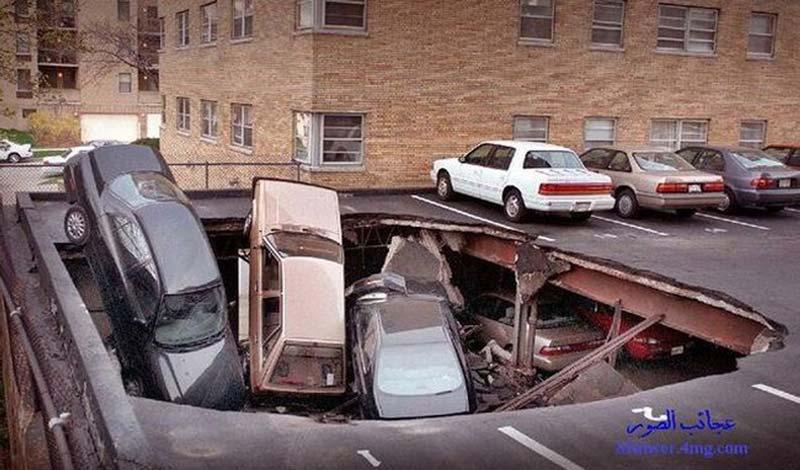 عکس های دیدنی از خنده دار ترین تصادف ها