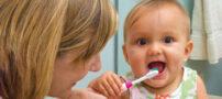 آموزش مسواک زدن به فرزندان