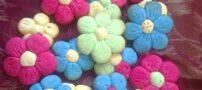 طرز تهیه شیرینی گل