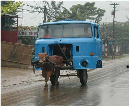 عکسهای خنده دار ترین وسایل حمل و نقل دنیا
