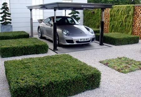 عکس پارکینگ مدرن زیر زمینی