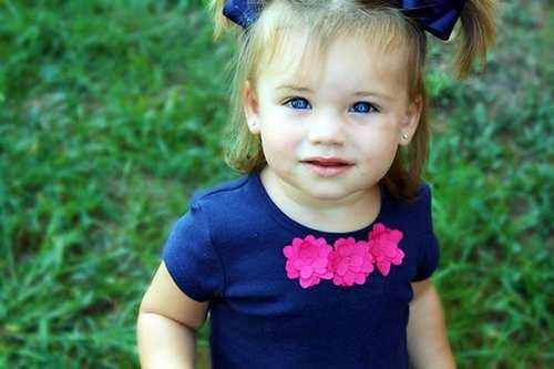 عکس های ناز از دختران نوزاد زیبا