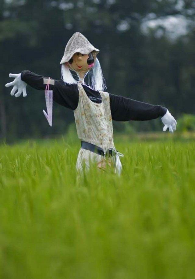عکس از مترسک های خنده دار دیدنی