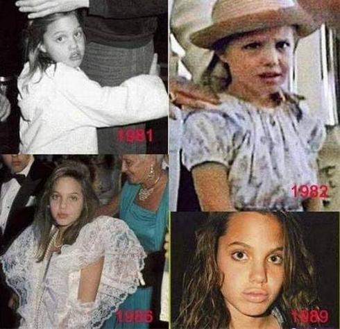 عکس های آنجلینا جولی از کودکی تا حال