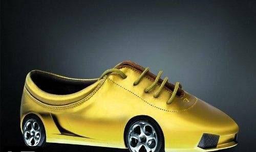 عکس های جالب ترین کفش های دنیا