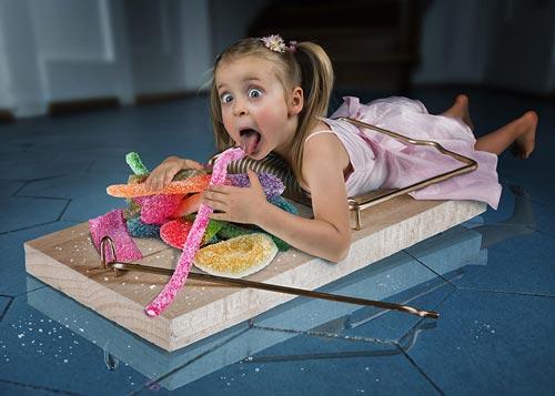عکس های جالب فانتزی از کودکان
