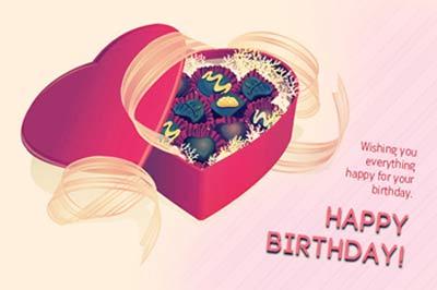 کارت پستال تبریک تولد کودکان
