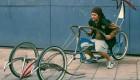 عکس هایی از عجیب ترین دوچرخه های جهان