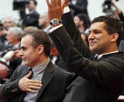 عكس از حامد بهداد در جشنواره فیلم