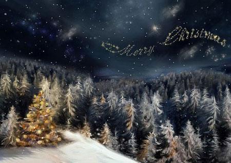 کارت پستالهای زیبای کریسمس 2015
