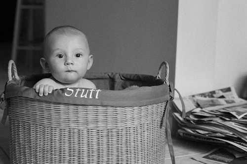 عکس های سیاه و سفید از کودکان ناز