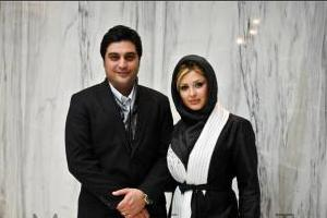 نیوشا ضیغمی و همسرش در لباس احرام (عکس)