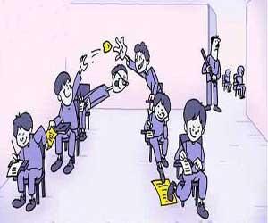 روش های تقلب در امتحانات (طنز تصویری )