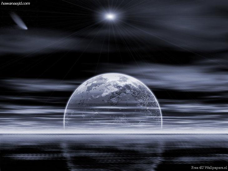 عکس های زیبا از ماه و خورشید