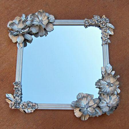 روشی جالب برای تزیین قاب عکس یا آینه
