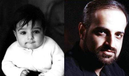 عکس کودکی دو خواننده معروف ایرانی