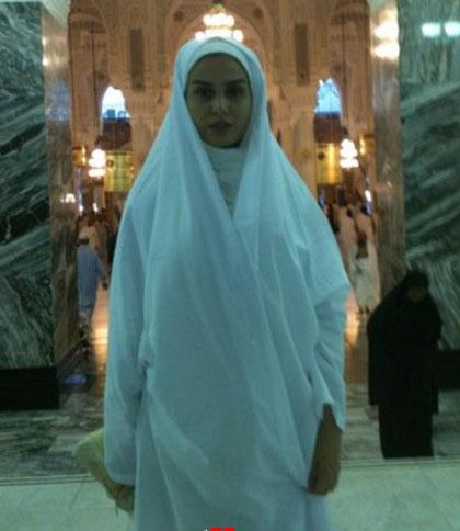 عکسهای مهناز افشار در لباس احرام