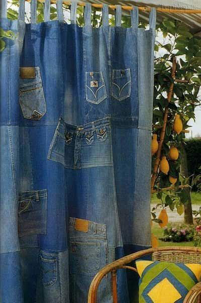 ایده هایی جالب برای لباس های جین کهنه