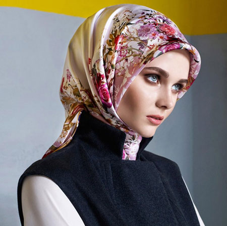 طرح های زیبای شال و روسری Aker