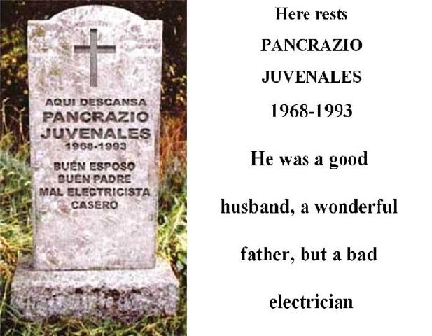 عکس باحال ترین نوشته های سنگ قبر