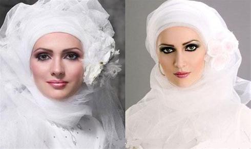 مدل های جدید و زیبای لباس عروس پوشیده و با حجاب