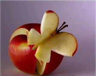 عکس های مجسمه سازی با میوه ها