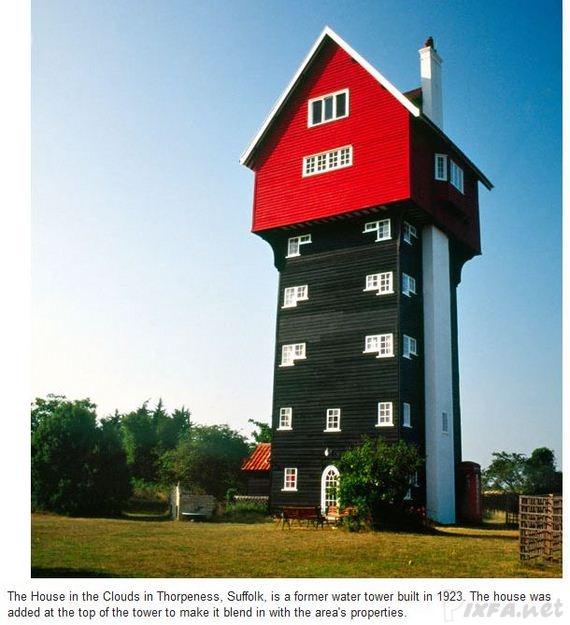 عکس هایی از عجیب ترین خانه های دنیا
