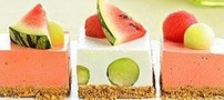طرز تهیه دسر هندوانه ویژه شب یلدا