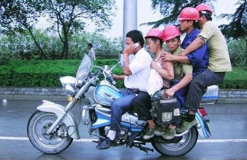 عکس هایی خنده دار از سوژه های چینی