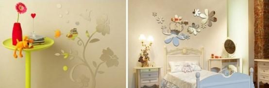 مدل های تزیین بسیار زیبای منزل و اتاق ها با آینه