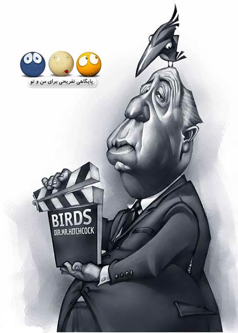 کاریکاتور مشاهیر بزرگ دنیا