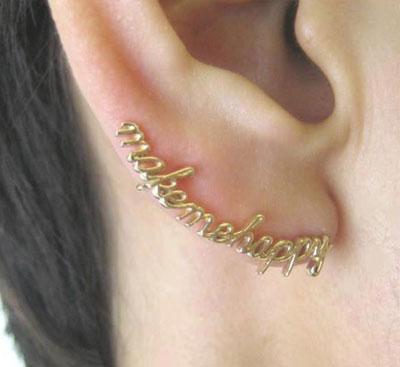 مدل گوشوارهای زیبا برای لاله گوش