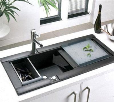روش نظافت صحیح سینک ظرفشویی