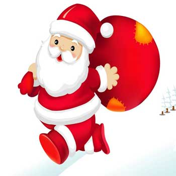کارت پستال تبریک کريسمس