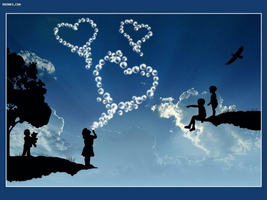 عکس عاشقانه و فانتزی قلبی زیبا