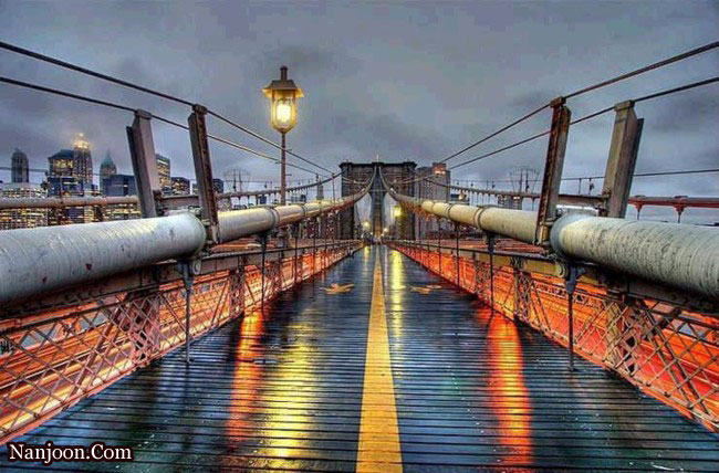عکس های عجیب ترین پل های جهان