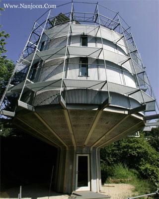 عجیب ترین خانه های جهان (عکس)